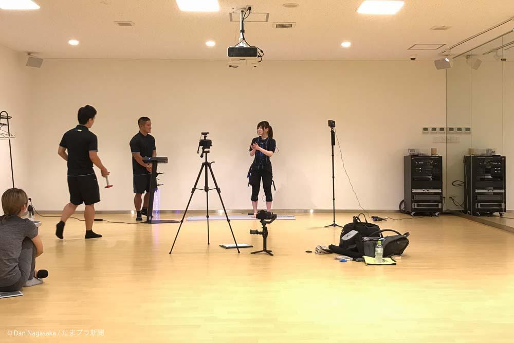 スタジオ動画撮影