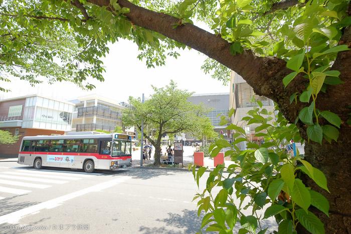 たまプラーザ駅 北口とバス