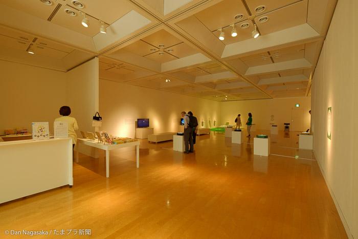 1階の展示室
