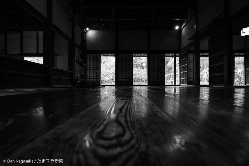 旧長沢家の広間
