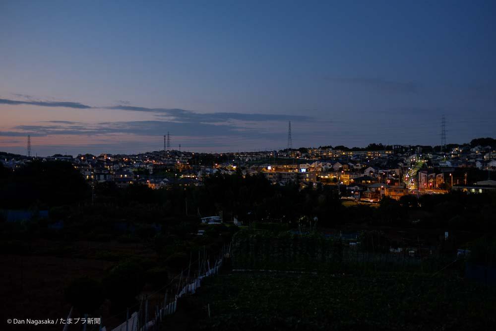 美しが丘西の夜景