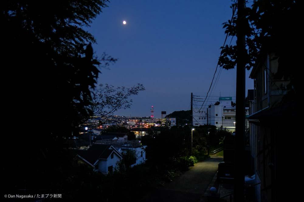 美しが丘の夜景