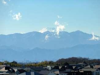 富士見ポイントからの富士山