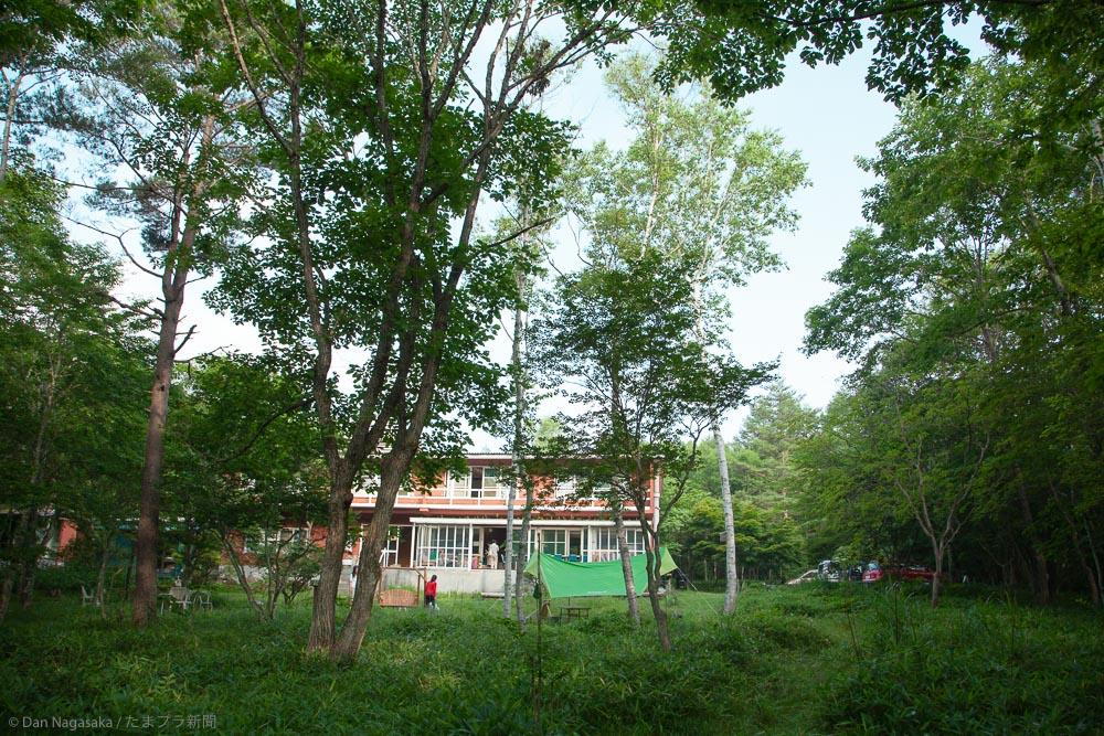 広い敷地の竹早山荘