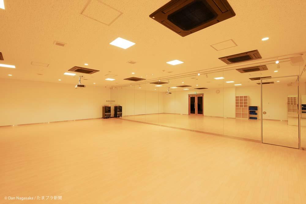 アトリオライトたまプラーザのスタジオ