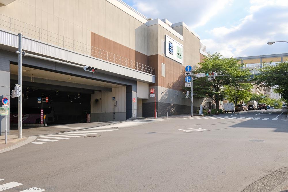 たまプラーザ駅北口タクシー乗り場とバスターミナル