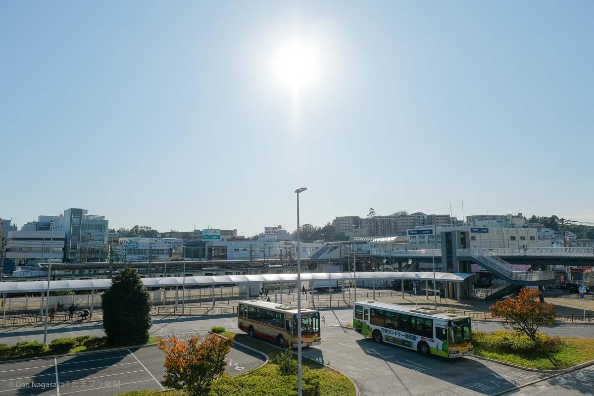 長津田駅北口タクシーバスのりば