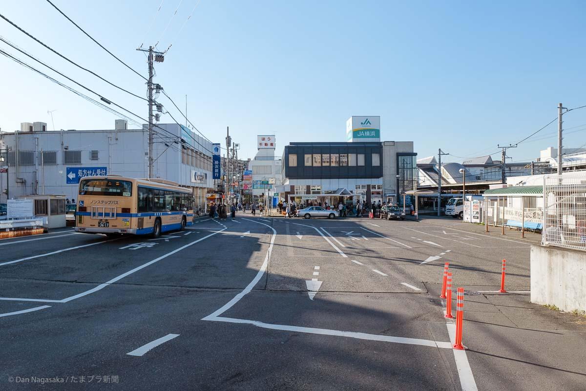 長津田駅前タクシーバスのりば