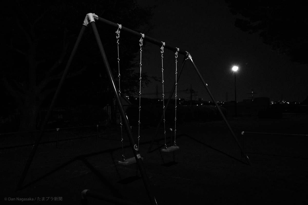 夜の美しが丘第三公園