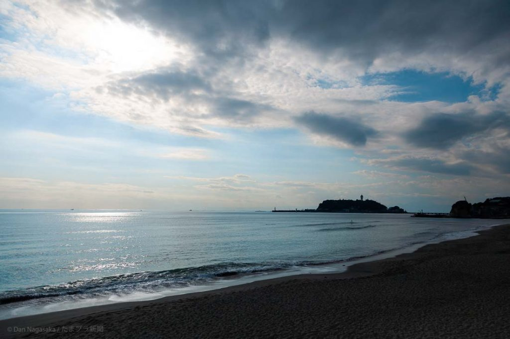 エモい七里ヶ浜と江ノ島
