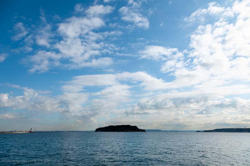 東京湾に浮かぶ無人島猿島