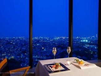 新横浜プリンスホテルからの夜景