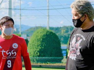 全日本プロレス石川修司と東急SレイエスFC菅谷天がPK対決