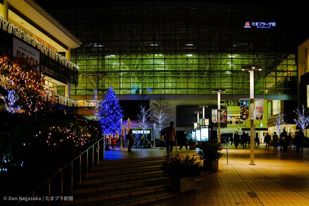 たまプラーザ駅南口クリスマスイルミネーション