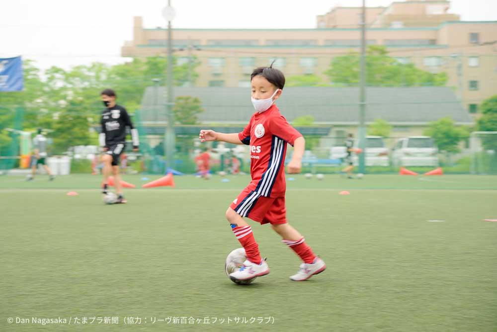 小学生フットサル選手