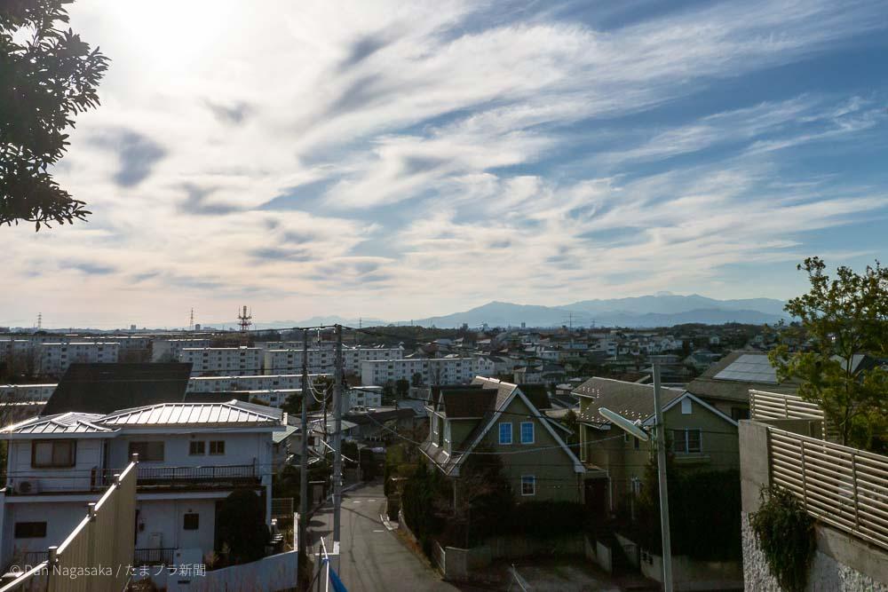 青葉区美しが丘 富士見ポイント