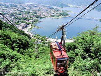 河口湖 富士山パノラマロープウェイ