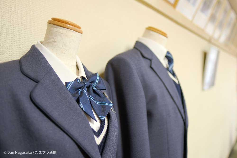 神奈川県立元石川高校の制服