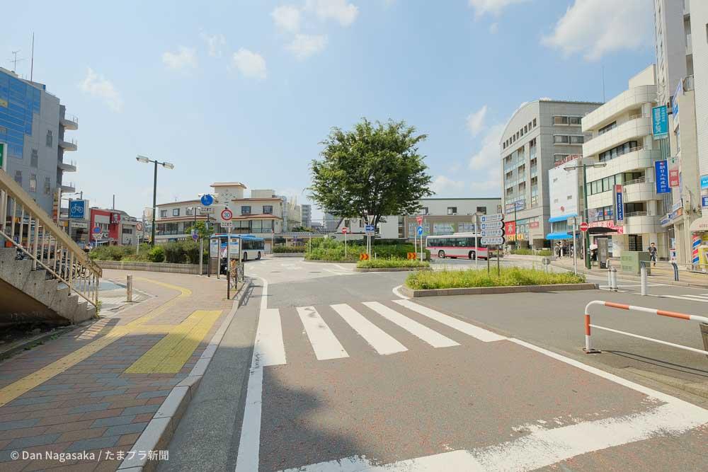向ヶ丘遊園駅南口ロータリー