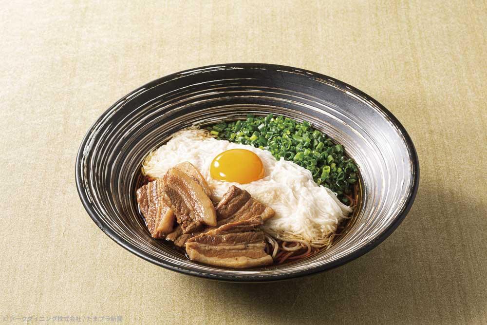 東京とろろそば 肉とろろ蕎麦