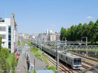 小田急線の電車