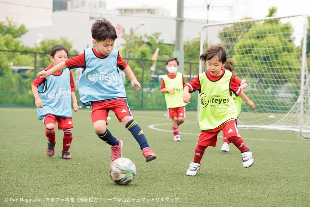 小学生サッカー選手