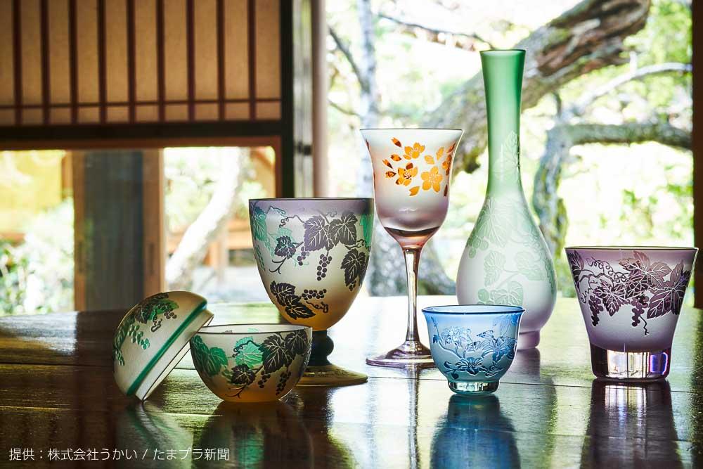 展示販売会 太武朗工房 ガラス彫刻の世界
